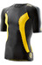 Skins M's DNAmic Top Short Sleeve Black/Citron